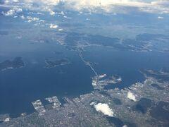 本州と四国をつなぐ瀬戸大橋 8年間でここ何回渡ったか・・・