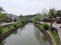 その先から、倉敷川に沿った美観地区。