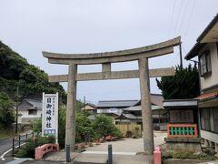 日御碕バス停で下車。日御碕神社へ参拝。