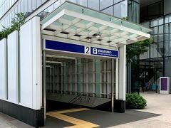 ホテルの最寄駅は、みなとみらい線「新高島駅」
