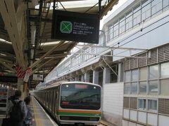 5番線には熱海始発の高崎線直通前橋行きが入って来ました。 上野方面から新前橋を経由して両毛線へ直通する電車ってわりと希少です。