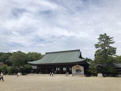 橿原神宮 広大な敷地