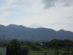 おっ、富士山が見える☆