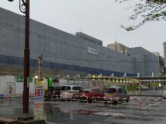 新潟に到着 新潟駅は、改装中