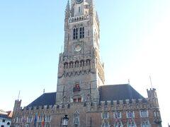 マルクト広場に面した鐘楼