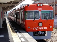 松山市駅から郊外電車に乗って横河原駅まで行ってきました。