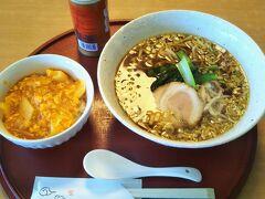 昼食は以前利用したことのある中華食堂へ。松江駅から西へ5分くらい歩いた場所にある。