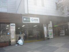 本日は白山神社へアジサイを見に来ましたが、まずは巣鴨駅に出現