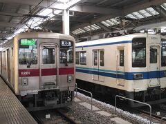 太田駅は高架で3面6線を有するな立派な駅です。 バブル華やかの頃に計画されたのでしょう、地方駅で3面6線の高架駅なんてそうはありませんからね。