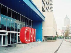 CNNセンターでは見学ツアーに参加。