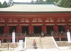ちゃんと、横川中堂にもお参り ※スタンプラリー自体は参拝料を払って、中でもらえます