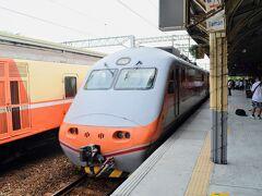 なんで一回台南で下車したのかさっぱり覚えておりませんが、次の列車で新営駅へ移動。 次の電車が自強号(特急)だったのでこれに飛び乗ります。