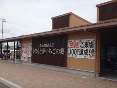 トイレ休憩を兼ねて新しい坂元駅前にある「やまもと夢いちごの郷」に寄り道。 この先、旧線巡りするのでしばらくトイレの施設が無いので念のため。