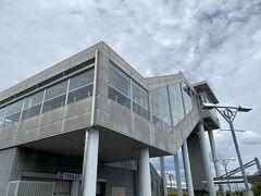 愛野駅到着 ここからは徒歩でエコパスタジアムまで タクシーを待たれている方もいましたが、ほとんどの方が歩いて向かってます