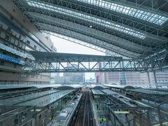 大阪駅の駅舎を1枚撮影して、新大阪駅に向かいます。