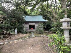 大湊神社がありました。