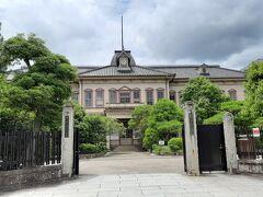 津山高等学校旧本館。  明治33年建造。イタリア・ルネッサンス様式も取り入れた建物です。  ちなみに、この津山高校、稲葉さんの出身校でもあります。 進学校で、稲葉さんも成績優秀だったそうで、横浜国大の教育学部を卒業されています。