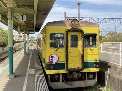 大原駅でJR外房線に乗り換え。