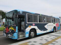 中野栄駅から無料のシャトルバスがあります.