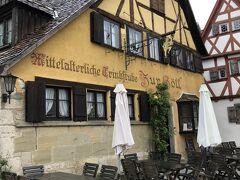 夕食は Zur Holl (地獄行き)というレストランを予約しておきました。  かなり人気店なのか、予約時間に行っても30分程度待たされました。  ちなみに予約していない人は追い返されいましたので、日本から予約をしておいてよかったです。