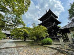 三重塔も江戸時代に再建され、真如堂のシンボル的建造物。 紅葉の名所ですが、青モミジの生命感が好きなので ついついこの季節に京都へ訪れてしまいます。
