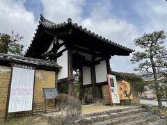 続いておしゃべりしながらのんびり歩いてやってきたのは海龍王寺。  遣唐使の安全祈願を行っていたことから、旅行・留学の安全祈願としても人気のお寺。 これはお参りしておかないとですよね(^_-)  ★真言律宗 海龍王寺 https://kairyuouji.jp/