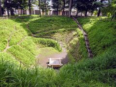 青梅新町の大井戸 杉山城跡に行った後だとここも山城に見えちゃったりする。 井戸の覆いは最近替えたばっかりよね。