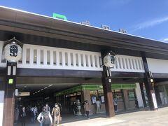 駅の造りは、JR成田駅のほうが玄関口感たっぷりで立派やね。