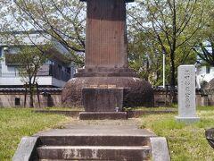 黒田孝高(黒田官兵衛、如水)公の墓碑