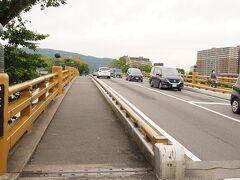 続いて瀬田の唐橋  「唐橋を制する者は天下を制する」といわれ 交通の要衝だったらしい。