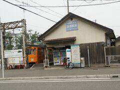 ●阪堺電車 浜寺駅前駅  浜寺公園のバラ園に一番近い阪堺電車の浜寺駅前駅。 天王寺まで乗り換えなしで移動できます。