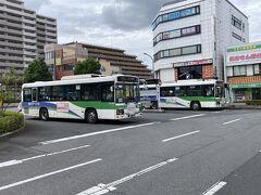 臼井駅前に出てきた。お昼は駅前でとる。