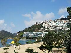 レパルスベイに到着です。香港にこんなところがあるなんて知らなかったし、高級リゾート感にびっくり