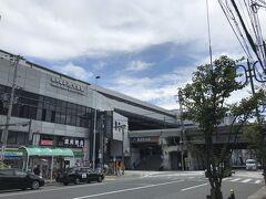 西九条駅がすぐ 環状線と阪神が通る駅