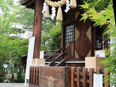 蓮を見終えて行田市街地へ移動し、最初に「行田八幡神社」を参拝。 氏神さまのような存在で、結構多くの参拝者がいました。 「封じ祈祷」(虫封じ、難病封じなど色々)にご利益あるそうです。