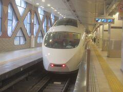 本日は箱根へアジサイを見に行きます  新宿からはこちらのロマンスカー