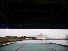 新港橋の下くぐっておおさんばし方向へ。