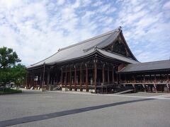 西本願寺(御影堂)(浄土真宗の本願寺派の本山で、始祖は親鸞聖人)