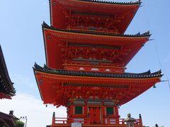 清水寺(三重塔)(778年草庵 798年坂上田村麻呂が寺院にした。)