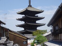 八坂の塔(法観寺で聖徳太子の寺)