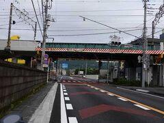 JR身延線柚木駅手前です。