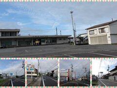 蒲原駅とその周辺です。  ※位置情報は、画像上付近です。