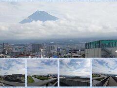 """""""富士山夢の大橋""""に来ました。"""