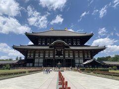 こちらが通称『奈良の大仏』で有名な東大寺。
