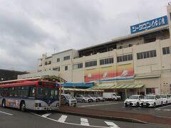 佐渡島の両津港からバスに乗ります。 最初の2日間はバスで佐渡島をまわる予定。 なので、佐渡島のバス乗り放題の2日間用フリーきっぷ2500円を購入しました。  まずは佐渡島のバス路線のメインルートである「本線」のバスに乗ります。 この路線は佐渡金山まで行きます。