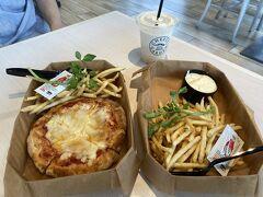 お買い物をして、「チーズガーデン」でカフェごはん  詳細はこちらへ https://4travel.jp/dm_shisetsu_tips/14397643