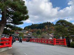 南の方に歩いてきました! 中橋を渡ると「高山来たな~!」って実感しますね。