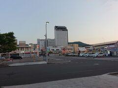 函館駅の方へ