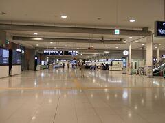 開港初期の関西空港が思い出されます。最近までアジア系の皆さんで溢れかえっていたのにね。
