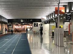 成田空港第3ターミナルの様子。 これくらいの混み具合。